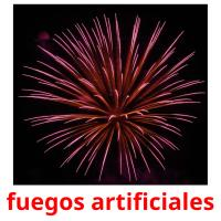 fuegos artificiales picture flashcards