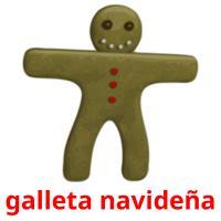 galleta navideña picture flashcards
