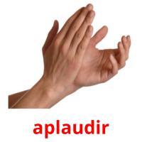 aplaudir picture flashcards