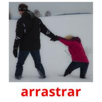 arrastrar picture flashcards