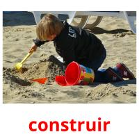 construir picture flashcards