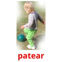 patear picture flashcards