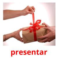 presentar picture flashcards
