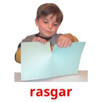 rasgar picture flashcards