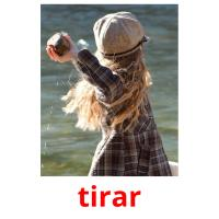 tirar picture flashcards