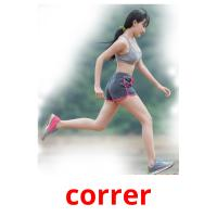correr picture flashcards