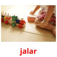jalar picture flashcards