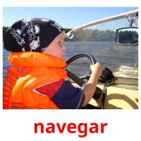 navegar picture flashcards