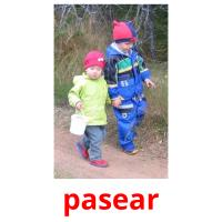 pasear picture flashcards