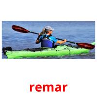 remar picture flashcards