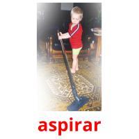 aspirar picture flashcards