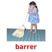 barrer picture flashcards