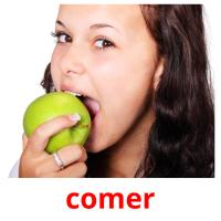 comer picture flashcards