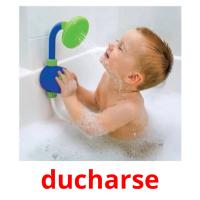 ducharse picture flashcards