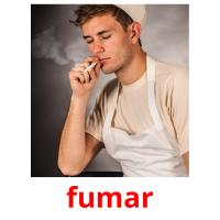 fumar picture flashcards