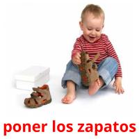 poner los zapatos card for translate