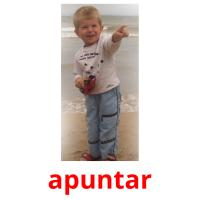 apuntar picture flashcards