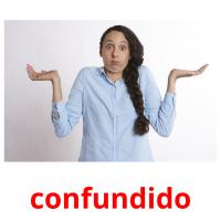 confundido picture flashcards