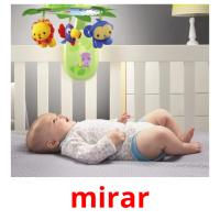mirar picture flashcards