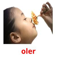 oler picture flashcards