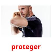 proteger picture flashcards