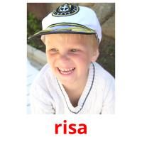 risa picture flashcards