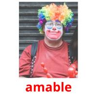 amable picture flashcards