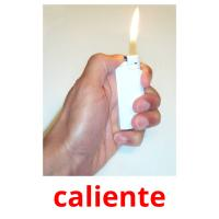 caliente picture flashcards