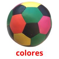 colores picture flashcards