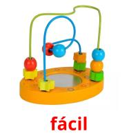 fácil picture flashcards