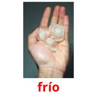 frío picture flashcards
