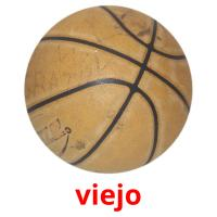 viejo picture flashcards