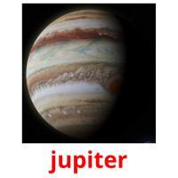jupiter picture flashcards