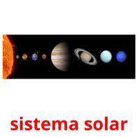 sistema solar picture flashcards