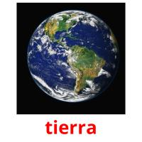 tierra picture flashcards