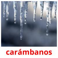 carámbanos picture flashcards