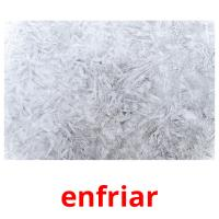 enfriar picture flashcards