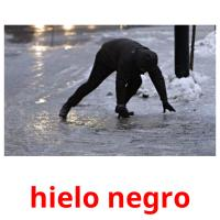 hielo negro picture flashcards