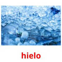 hielo picture flashcards