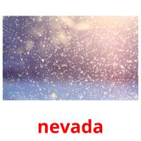 nevada picture flashcards