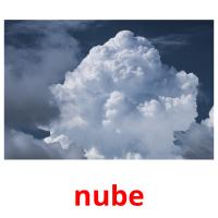 nube picture flashcards