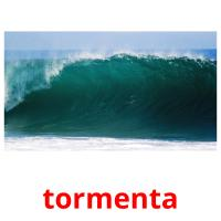 tormenta picture flashcards