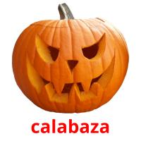 calabaza picture flashcards