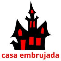casa embrujada picture flashcards