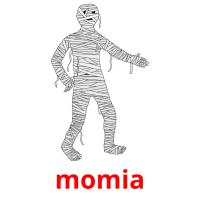 momia picture flashcards