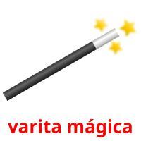 varita mágica picture flashcards
