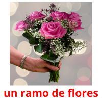 un ramo de flores picture flashcards