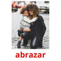 abrazar picture flashcards
