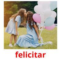 felicitar picture flashcards