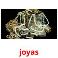 joyas picture flashcards